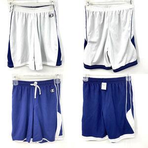 Champion Men Reversible Short Basketball Blue Navy